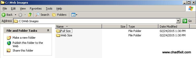 Web_Folder_Setup